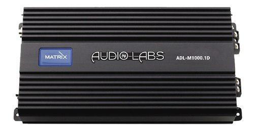 Amplificador audio labs adl-m1000.1d 2200wmax class d 1 can