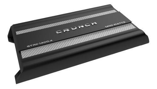 Amplificador crunch gtrll-1400.4 class a/b 1400w 4 canales