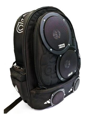 Amplificador portátil en mochila con bluetooth