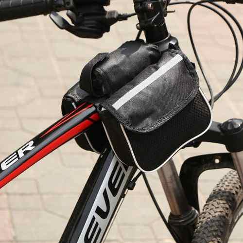 Bolsa de marco de bicicleta bolsa de ciclismo frontal cabeza