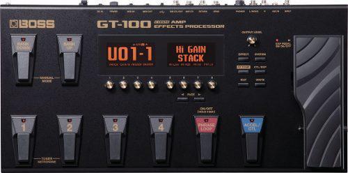 Boss gt-100 procesador con efectos y amplificadores cosm