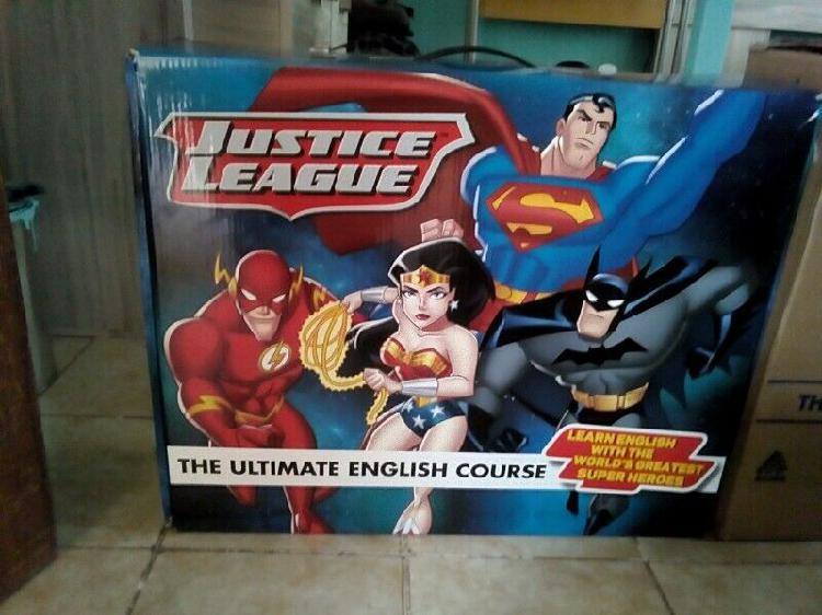 Curso de inglés para niños y niñas liga de la justicia