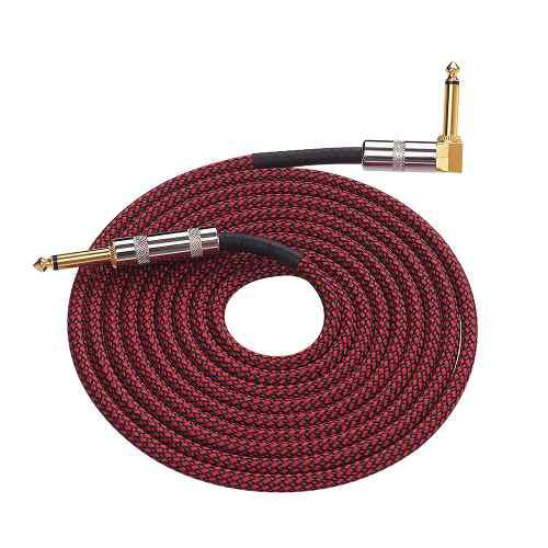 Cable de 6 metros / 20 pies para instrumentos musicales,