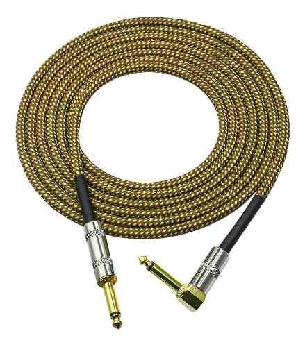 Cable de guitarra para instrumentos musicales (6 metros)