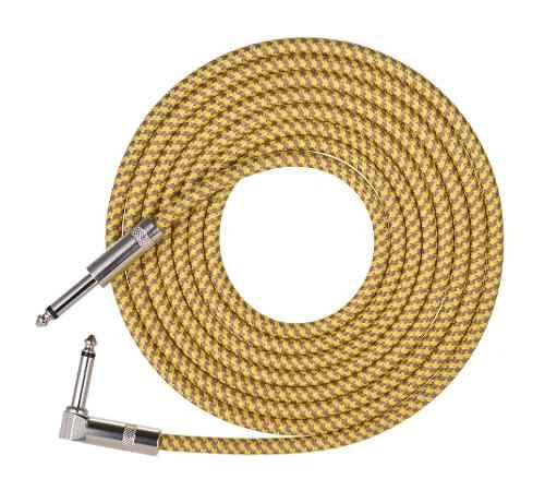 Cable de instrumentos musicales para guitarra eléctrica,