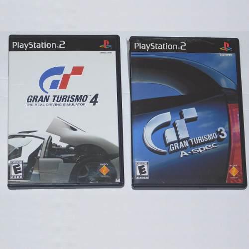 Coleccion gran turismo 3-4 playstation 2 los clasicos retro