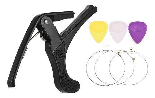 Conjunto de accesorios para instrumentos musicales guitar