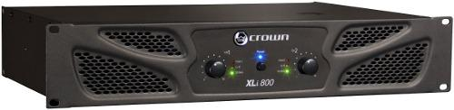 Crown xli800 potencia amplificador 600w rms 8 ohms