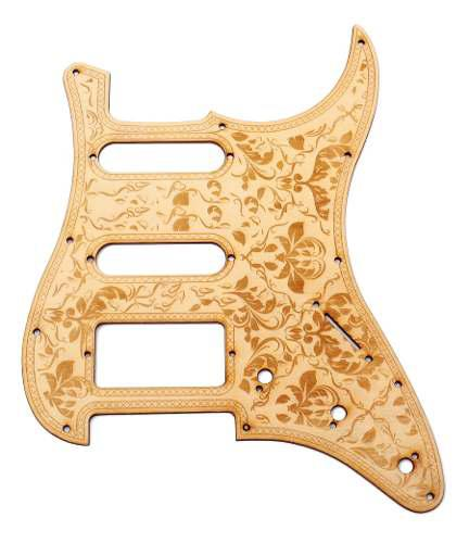 Instrumentos musicales especial flor pickguard scratch placa