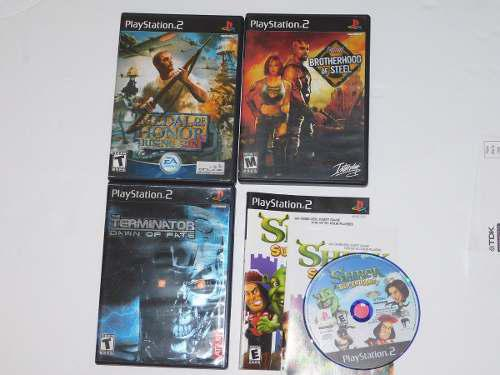 Juegos playstation 2 fallout baratos retro terminator shrek