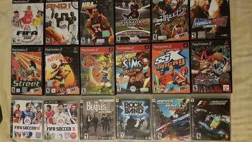Juegos Playstation 2 Y 3, Ps2, Ps3, Videojuegos