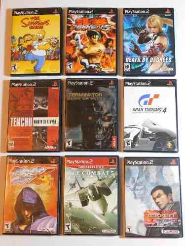 Juegos Ps2 Tekken Peleas Nina Ace Combat Gran Turismo