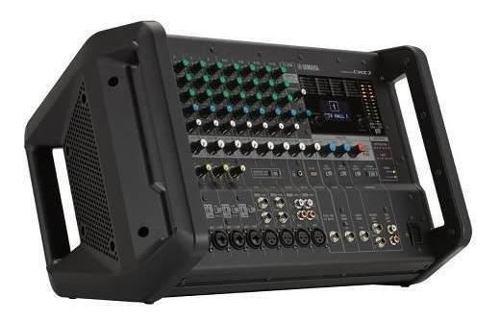 Mezcladora con amplificador integrado 12 ch 500w emx7 yamaha