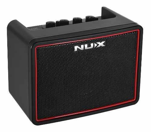 Nux mighty lite bt mini desktop amplificador para guitarra
