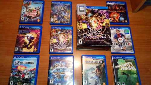Pack juegos de ps vita y edicion de coleccion