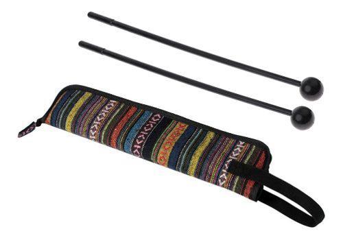 Piezas de instrumentos musicales palo de percusión con