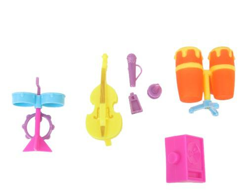 Set de batería para violín, instrumentos musicales, kits