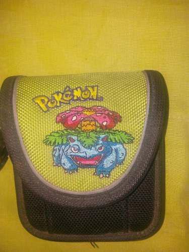 Funda para gameboy advance sp pokemon edicion verde hoja
