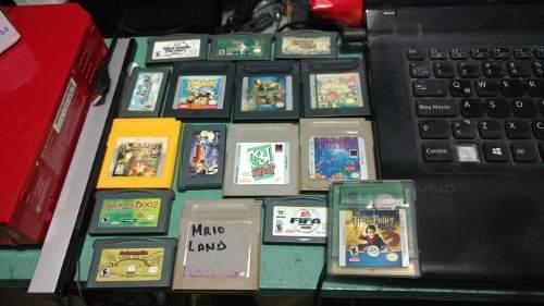 Juegos para gameboy color advance mario donkey etc nintendo
