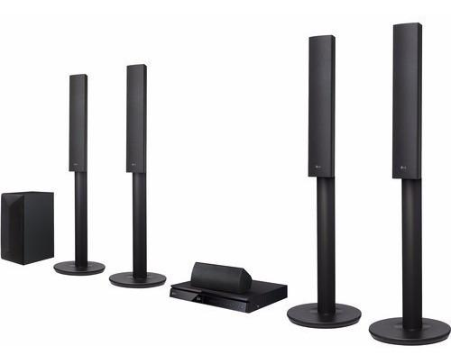 Lg lhb655 5.1 canales 3d smart blu-ray sistema home theater