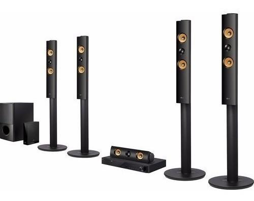 Lg lhb755w 5.1canales 3d smart blu-ray sistema home theater