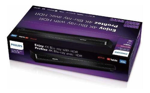 Reproductor blu ray philips 4k ultra hd bdp7303 wifi