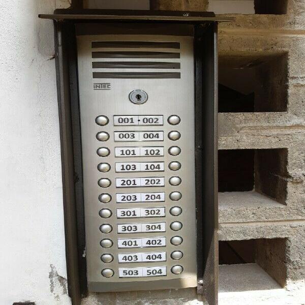 Servicios técnicos de interfonos..