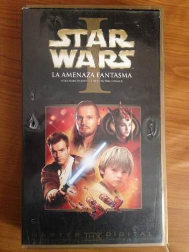 Star wars episodio i vhs