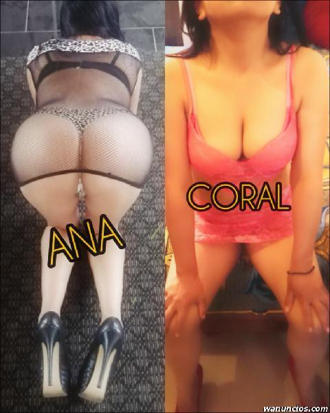 ANA Y CORAL 2 ARDIENTES CHICAS SÓLO PARA TI