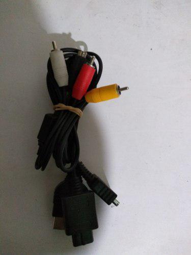 Cable rca pulpo n64 ps2 xbox clásico