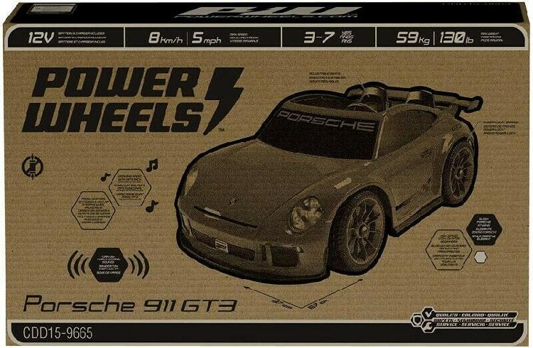 Carro electrico montable porsche 911 gt3