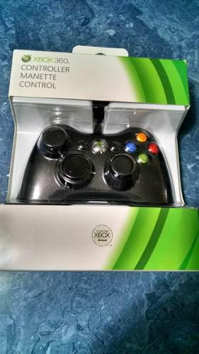 Control Alambrico Para Xbox 360 Y Windows.