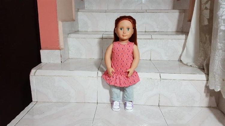 Hermosa muñeca marca our generation battat