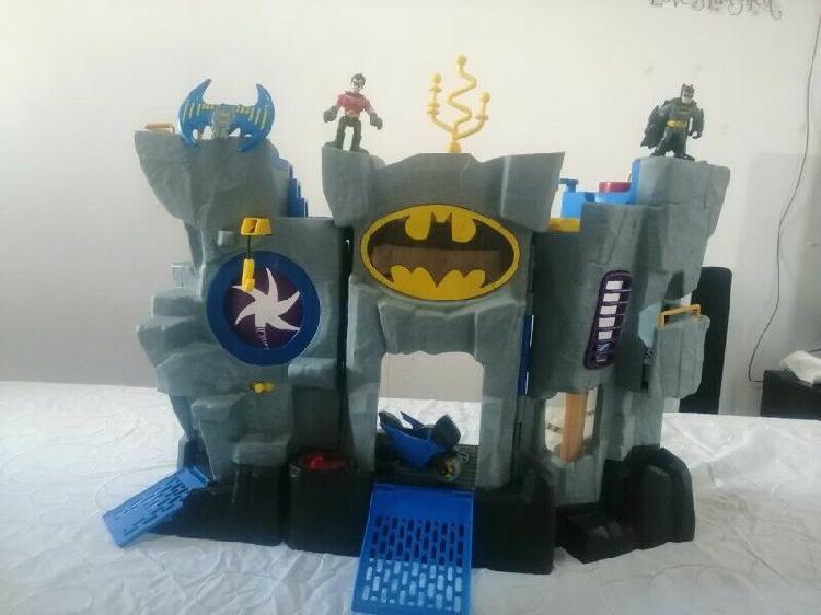 Imaginext Baticueva DC Super Friends Fisher Price con