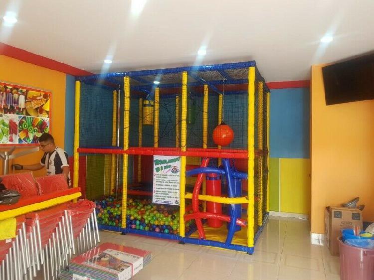 Juego infantil para salón de fiestas y/o restaurante ideal