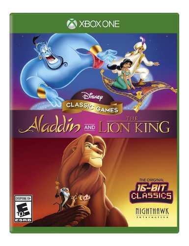 Juegos clásicos de disney: aladdin y el rey león - xbox