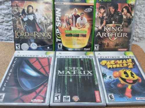 Juegos xbox clásico completos originales
