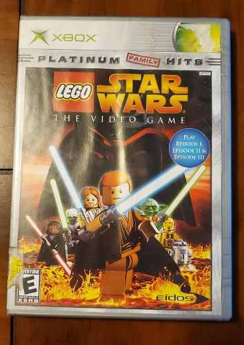 Lego star wars the video game xbox clasico