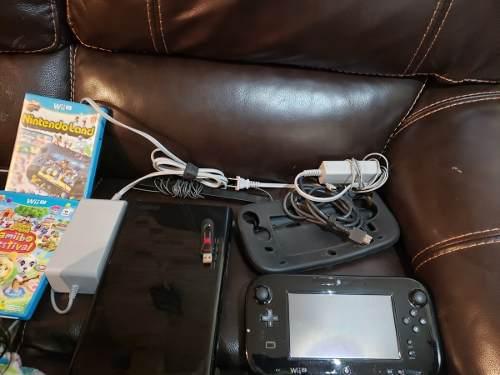 Nintendo wiiu 32gb + 25 juegos usb 128gb, funda, 2 juegos ex