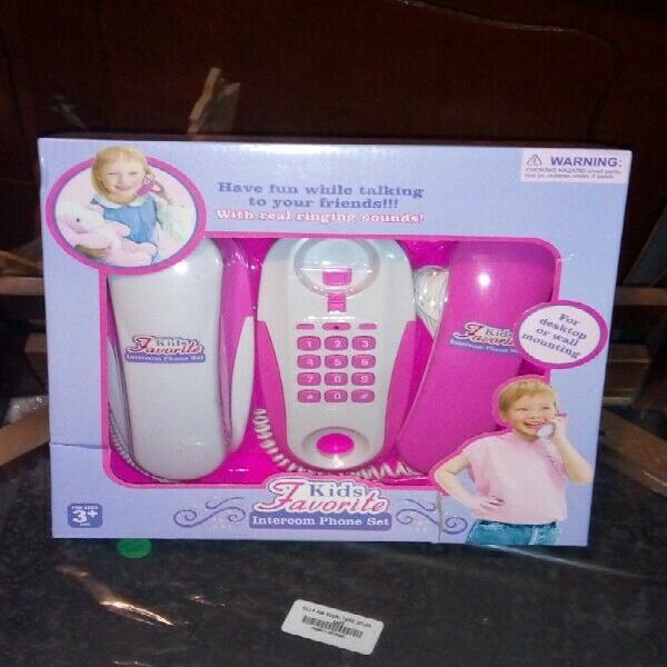 Set de dos teléfonos para niños