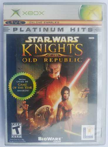 Star wars knights of theold republic xbox clásico play