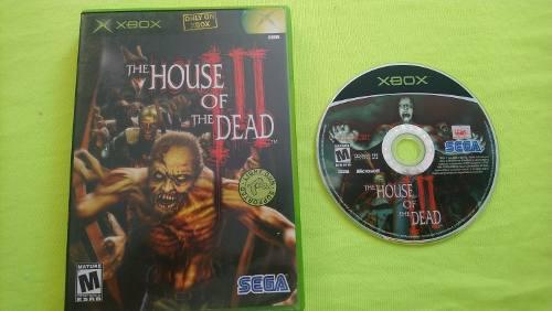 THE HOUSE OF DEAD 3 XBOX CLASICO segunda mano  México (Todas las ciudades)