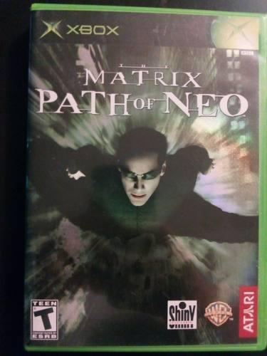 Video juego xbox clasico matrix path of neo funcionando
