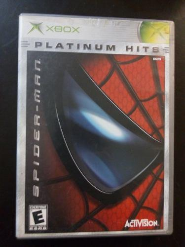 Video juego xbox clasico spiderman funcionando