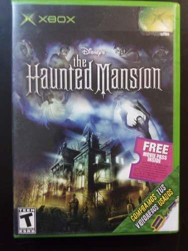 Video juego xbox clasico the haunted mansion funcionando