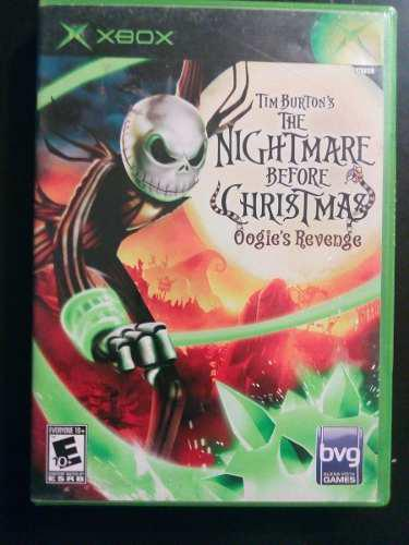 Video juego xbox clasico the nightmare before christmas func