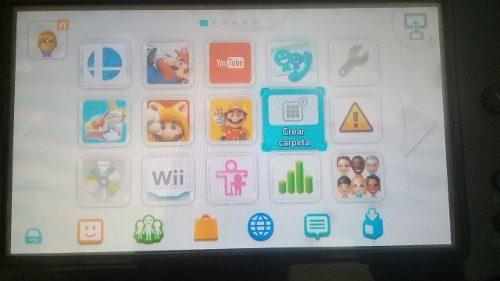 Wii u 32gb con juegos + usb 16gb con juegos