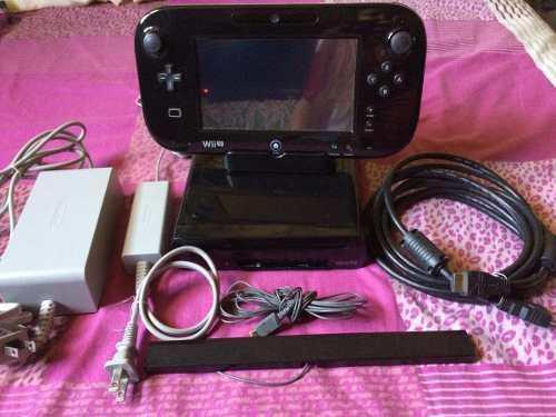 Wii u 32gb + usb 128gb con 25 juegos homebrew envio gratis