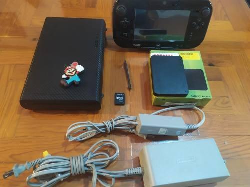 Wii u + disco duro 2tb con muchos juegos