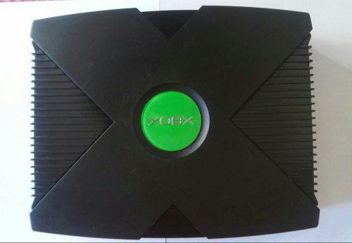 Xbox clasico con juegos